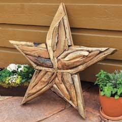 Grande Driftwood Star