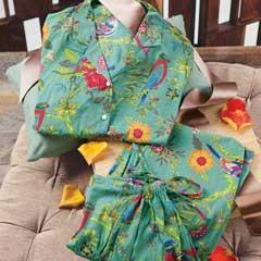 Tropical Garden Pajamas