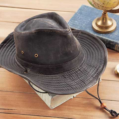 Sedona Waxed Canvas Hat