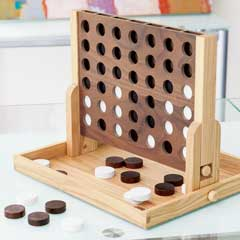 Modern Oak Connect Four