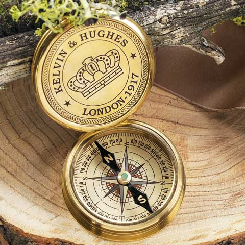 Trailblazer Brass Compass
