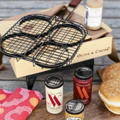 Backyard Burgers Set