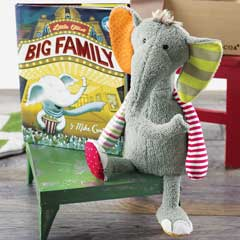 Elliot the Elephant Storybook & Buddy
