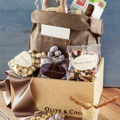 Canvas Lunch Sack & Snacks