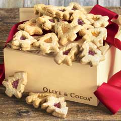 Festive Windowpane Cookies