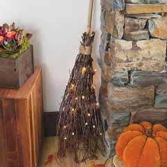 Lit Witch's Broom