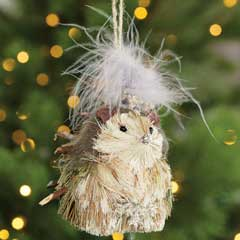 Fanciful Hedgehog Ornament