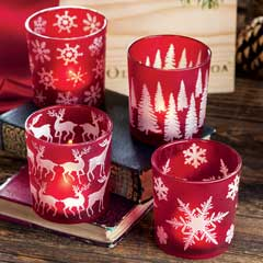 Rouge Holiday Votives