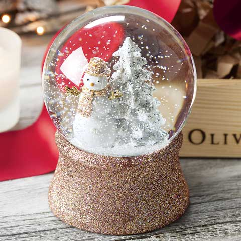 Glittered Wintertide Snowglobe