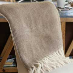Apres Ski Herringbone Throw