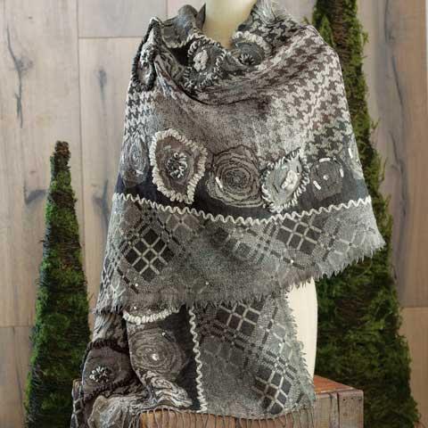 Margot Embellished Wrap