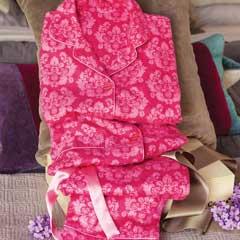 Baroque Damask Pajamas