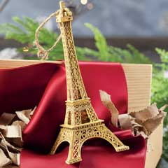 Sparkling Tour Eiffel Ornament