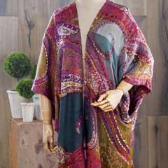 Boheme Embroidered Kimono