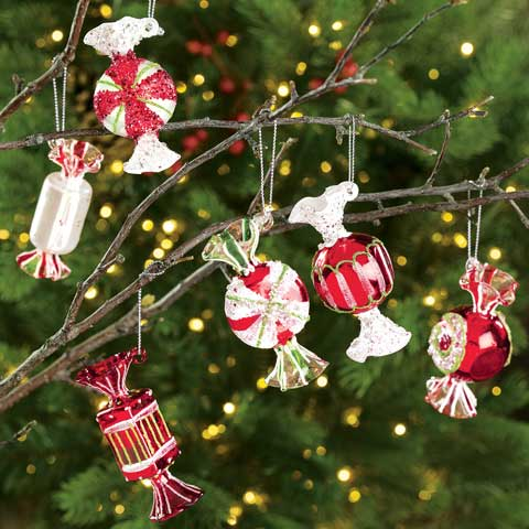 Heirloom Candy Ornaments