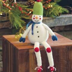 Oliver Felted Snowman