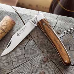 Wood Handled French Pocket Knife