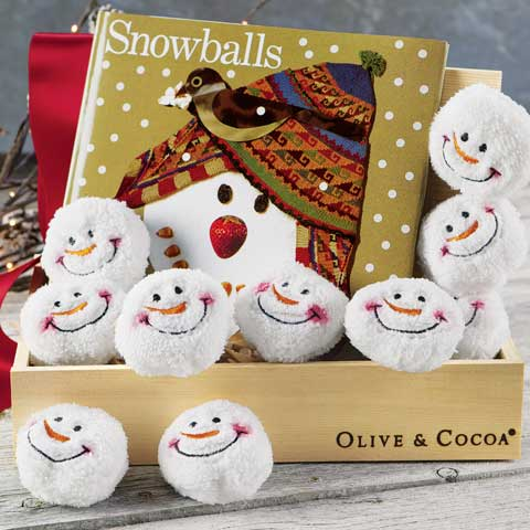 Snowballs & Storybook Play Set