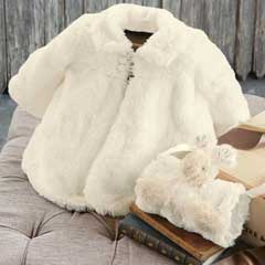 Little Bunny Swing Coat & Muff