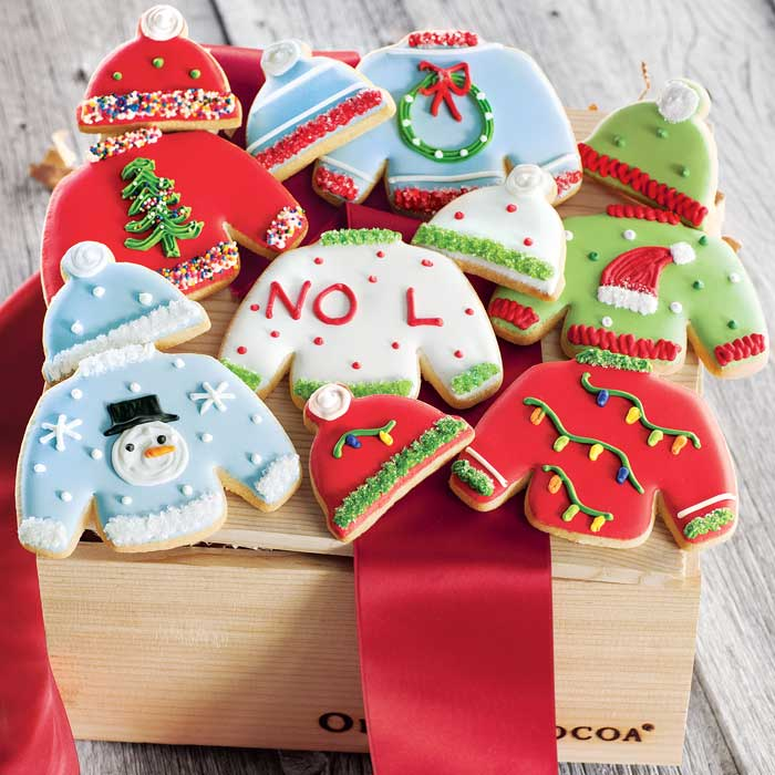 Ugly Sweater Frosted Christmas Cookies Olive Cocoa
