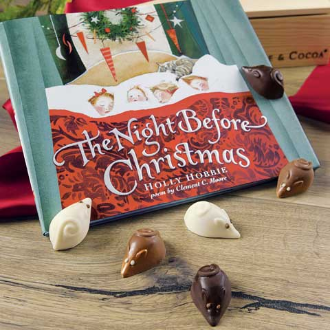 The Night Before Christmas Storybook & Chocolate Mice