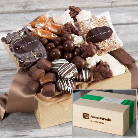 TD Ameritrade Institutional Chocolatier Sweets