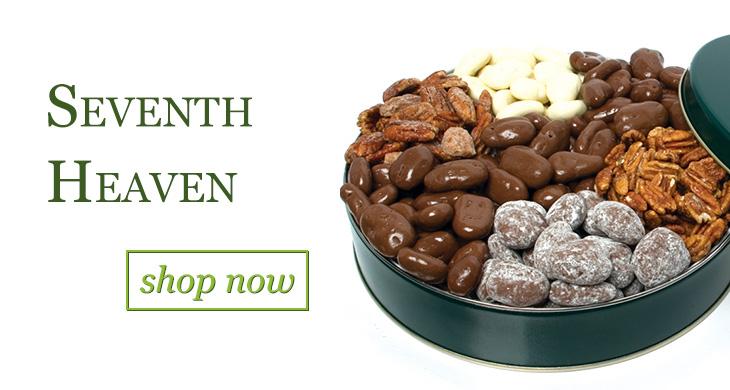 Seventh Heaven Chocolate Pecan Gift Tin