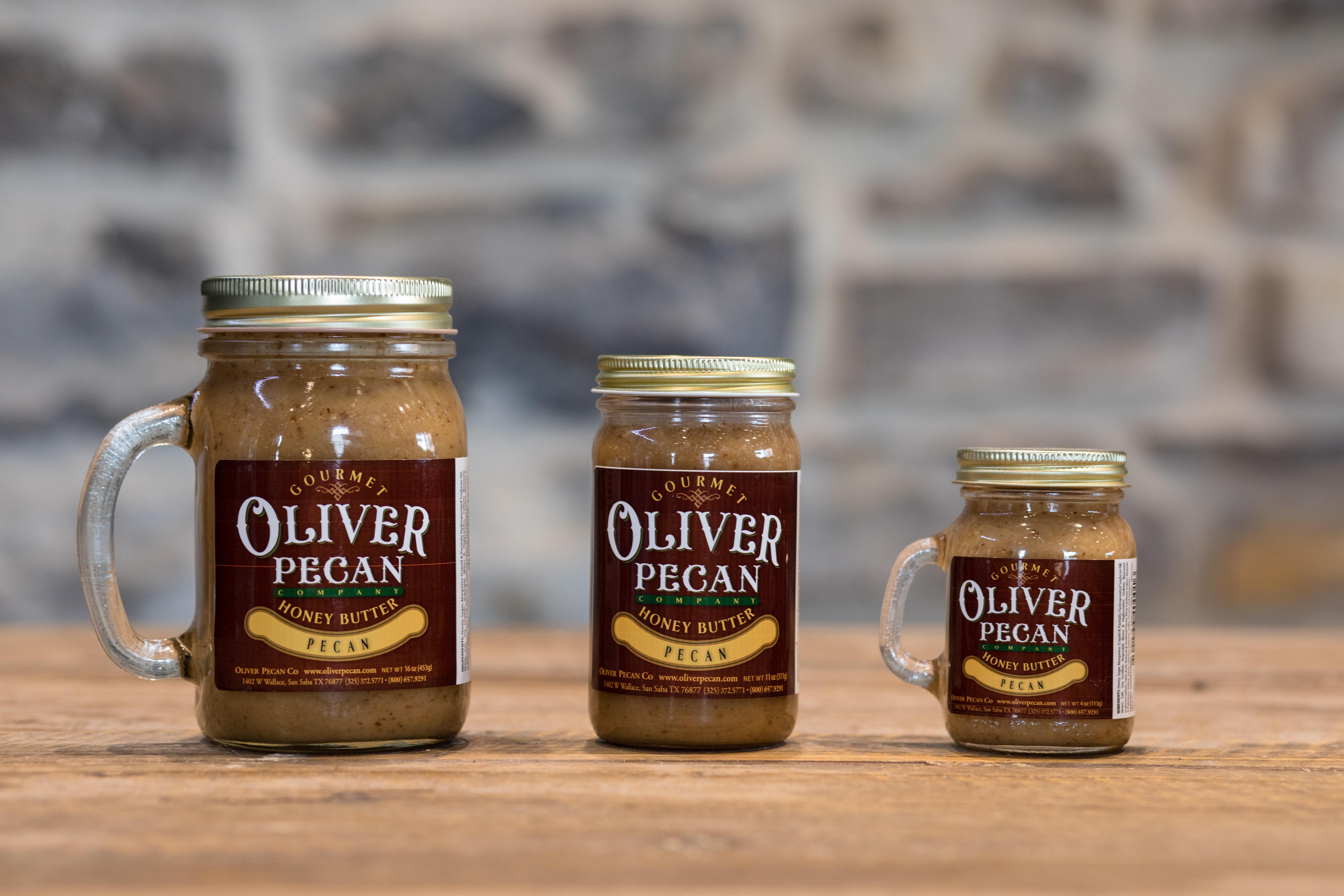 4 oz. Jar Pecan Honey Butter