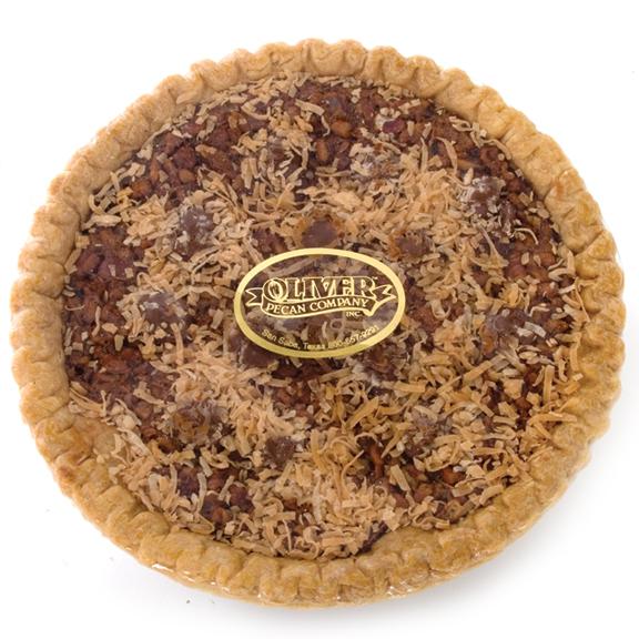 German Chocolate Pecan Pie, Pies: Oliver Pecan Co.