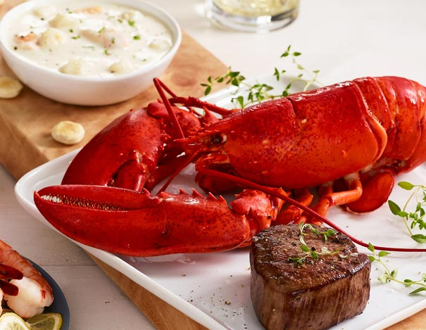 Lobster, Filet, and Chowder