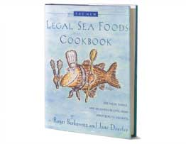Legal Sea Foods Cookbook - Signed Copy