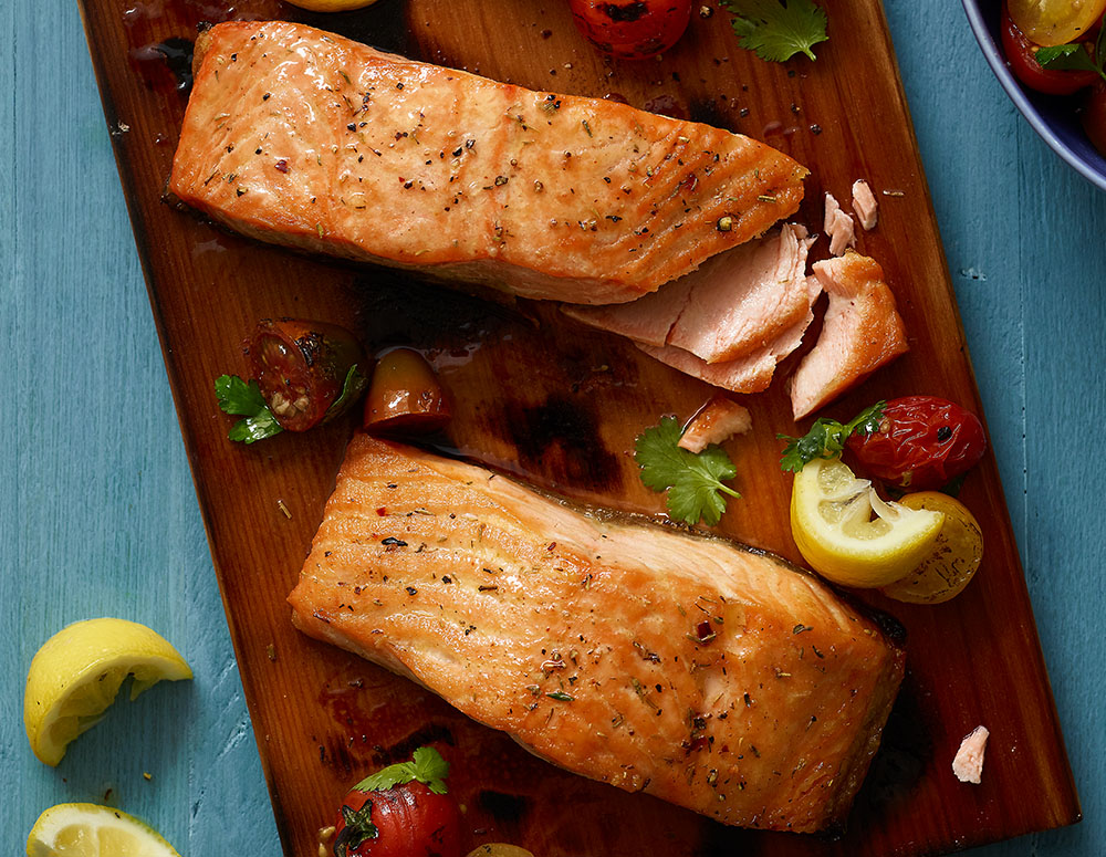 7 oz. Salmon Fillet - 6 pk.