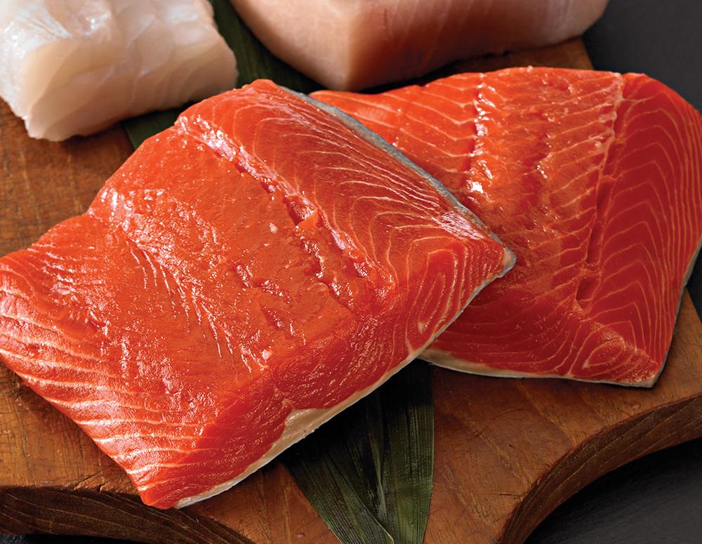 7 oz. Salmon Fillet - 6 pk.