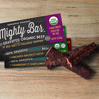 Organic Beef Mighty Bar Snack Pack