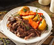 Organic Beef Chuck Roast - One 2-lb Roast