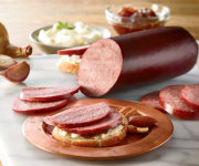 Organic Uncured Beef Summer Sausage - Garlic - Two 12-oz. Sticks