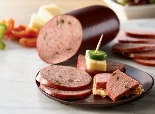 Organic Uncured Beef Summer Sausage - Jalapeno