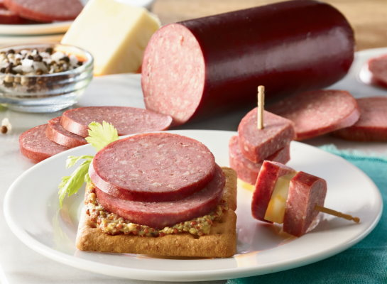 Organic Uncured Beef Summer Sausage - Original