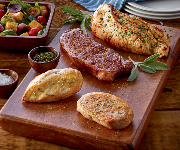 Organic Prairie Sampler Pack - 2 NY Strips, 4-6 Chicken Breast, 4-6 Turkey Breast, 6 Pork Chops