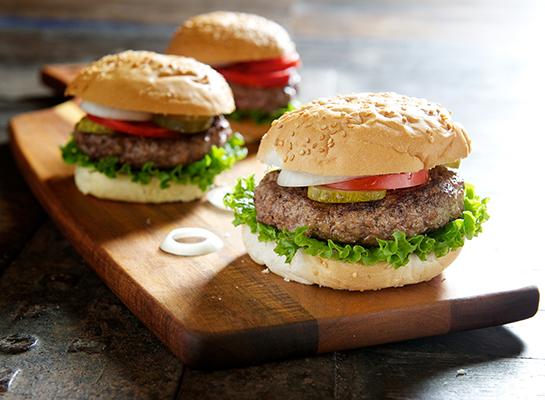 Organic Pasture Raised Beef Burger Patties