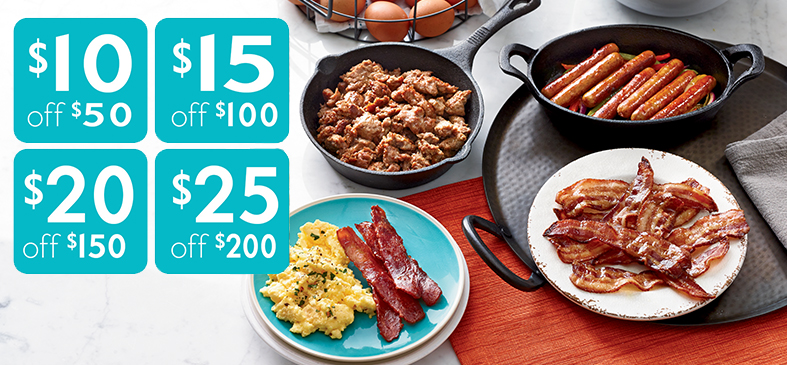 Organic Breakfast Meats<p>Save BIG on all of your favorites with our end of summer savings! Offer ends 8.21.18