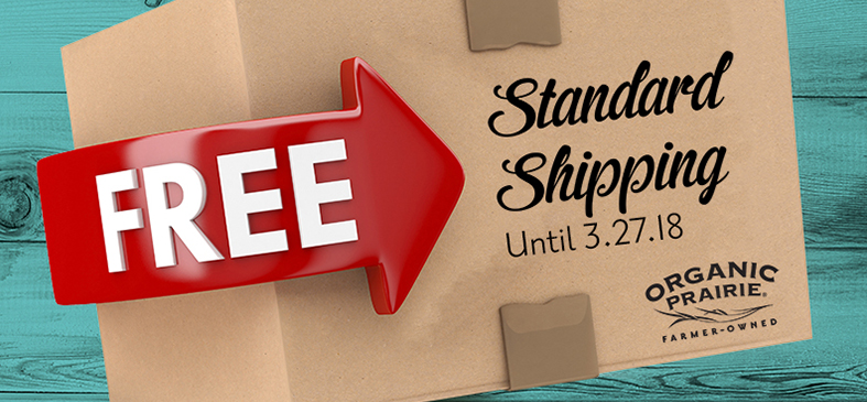 Free Standard Shipping<p>Place an order for $39 or more and receive free standard shipping.