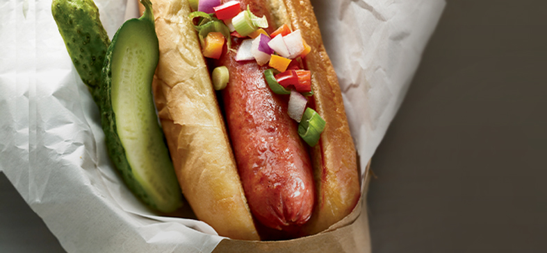 Organic Grassfed Beef Hot Dog<p>Take 10% off your favorite Organic Prairie Grassfed Organic Meat.