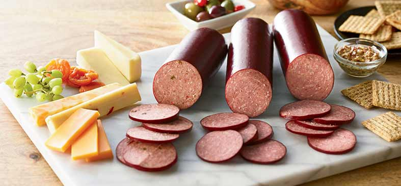 Organic Beef Summer Sausage Sampler<p>This sampler includes three flavors of your favorite Organic Prairie Summer Sausage!