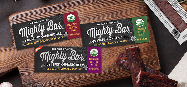Grassfed Mighty Organic Bars<p>Save up to $15 on premium Mighty Organic Bars for a limited time!