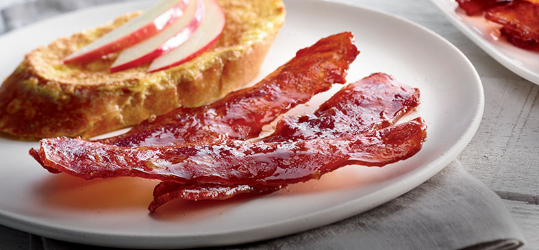 Flavorful Organic Turkey Bacon<p>Save 15% off delicious Organic Turkey Bacon that compliments any breakfast!