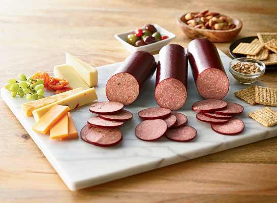 Organic Beef Summer Sausage Sampler