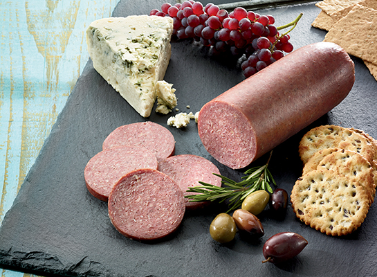 Time Is Running Out!<p> All Flavors of Summer Sausage 25% Off!