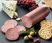 Organic Beef<br />Summer Sausage - Five 12 oz. pkgs, Beef Summer Sausage -  Garlic