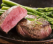 Organic Beef Tenderloin Value Pack Steak